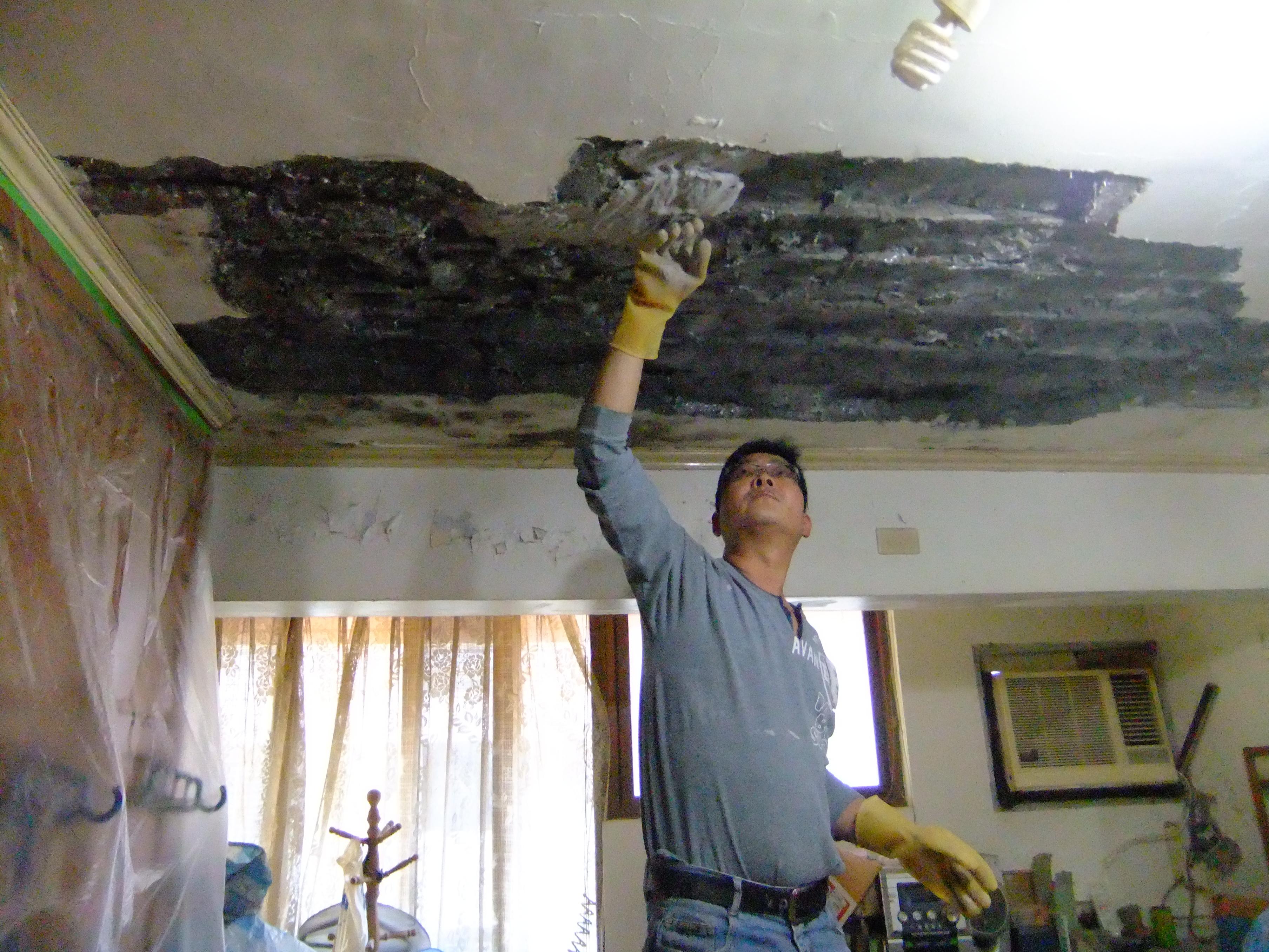 天花板外露補強   卡芮房屋修繕工程