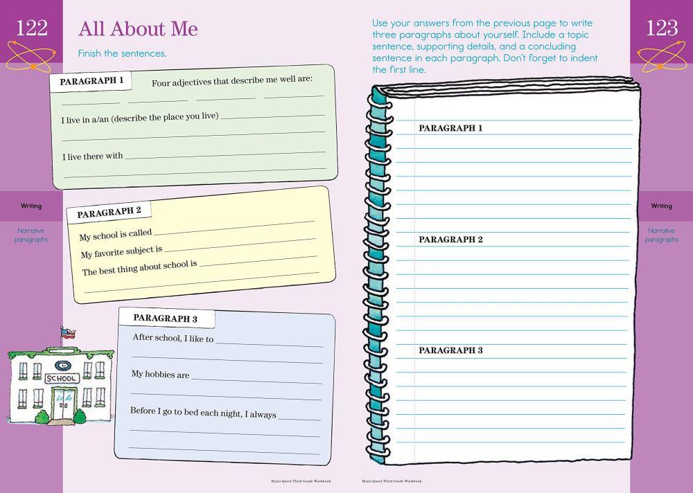 medium resolution of Brain Quest Workbook: Grade 3 - A2Z Science \u0026 Learning Toy Store