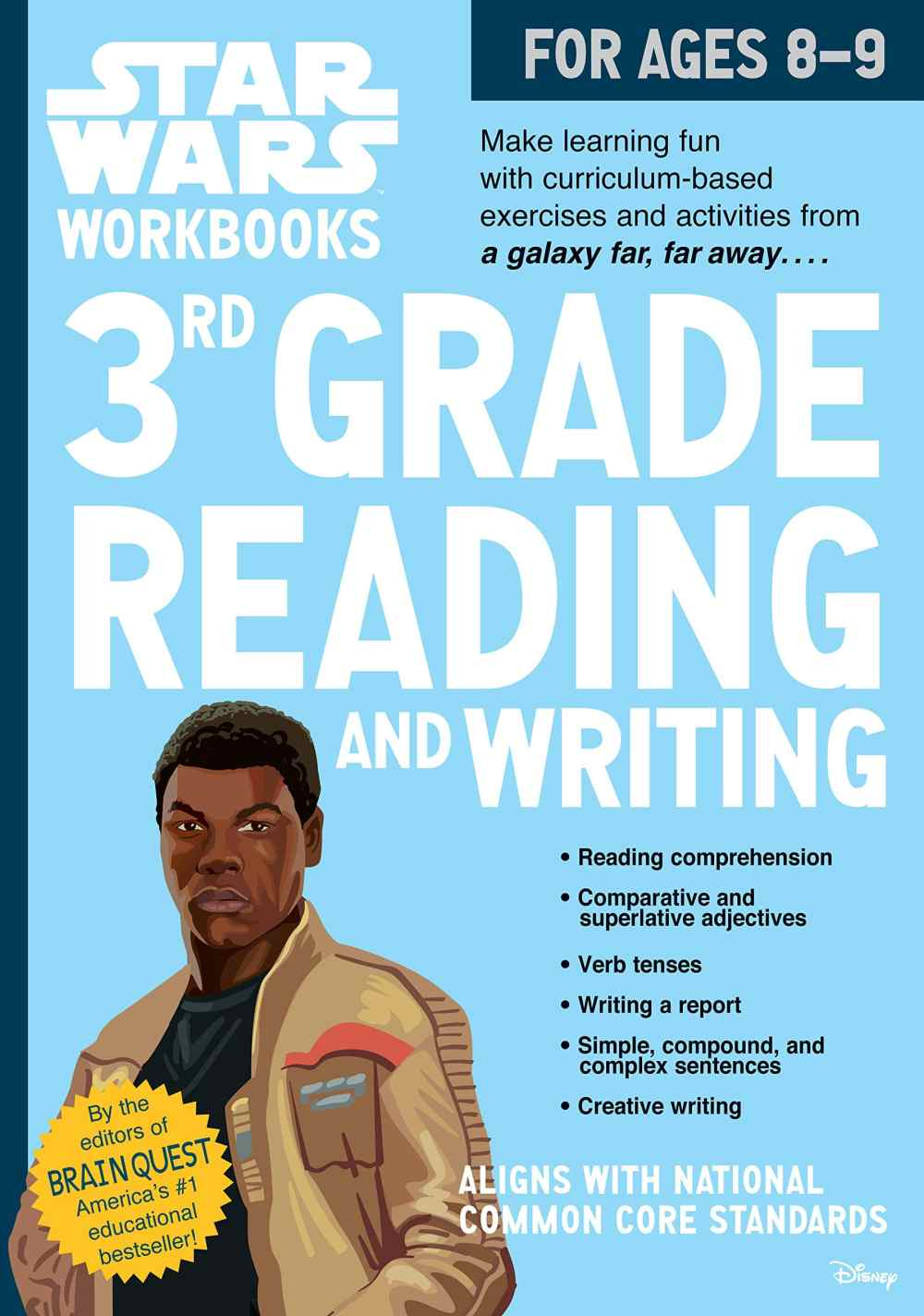 medium resolution of Star Wars Workbook: 3rd Grade Reading and Writing - A2Z Science \u0026 Learning  Toy Store