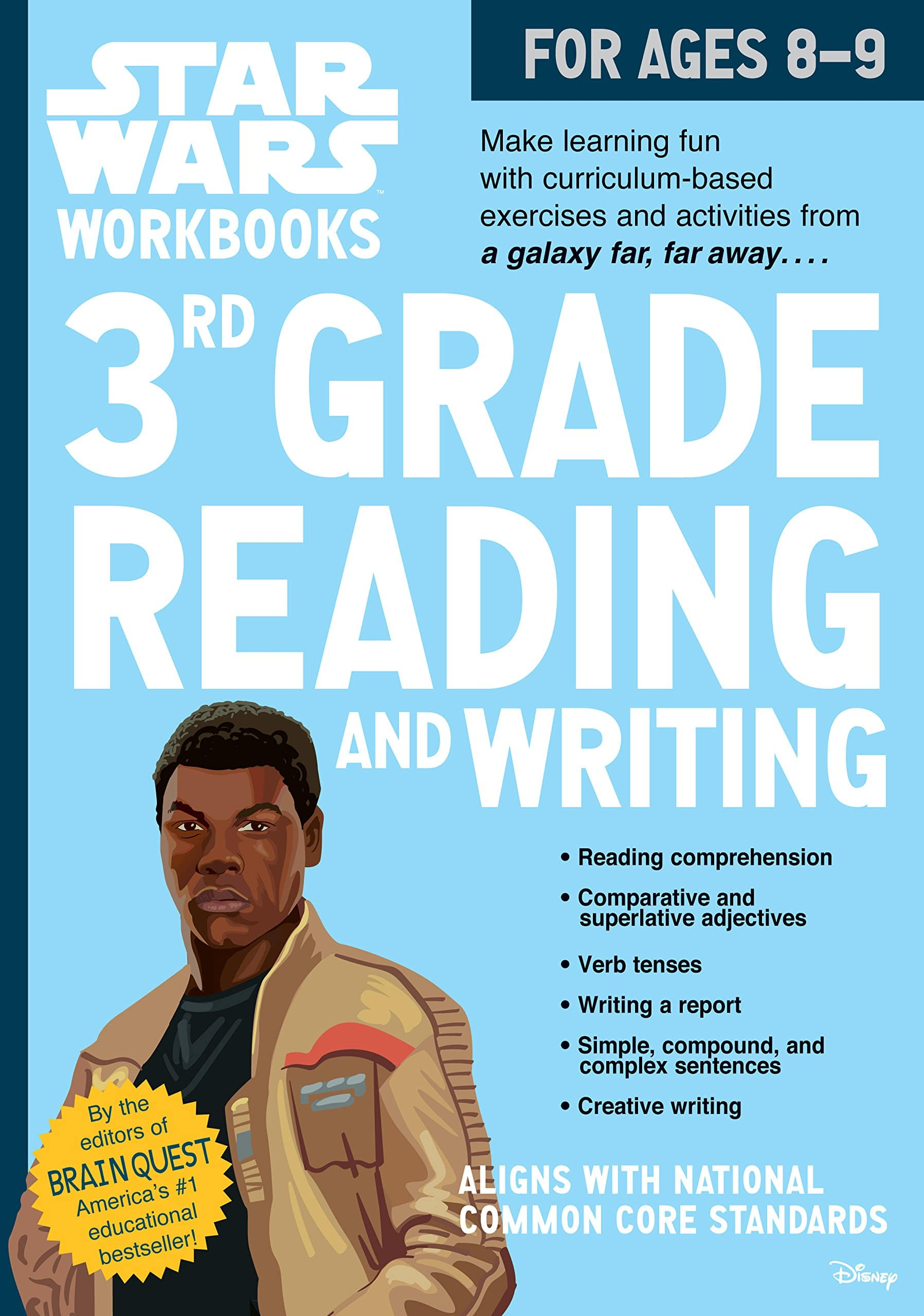 hight resolution of Star Wars Workbook: 3rd Grade Reading and Writing - A2Z Science \u0026 Learning  Toy Store