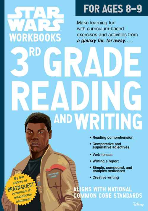 small resolution of Star Wars Workbook: 3rd Grade Reading and Writing - A2Z Science \u0026 Learning  Toy Store