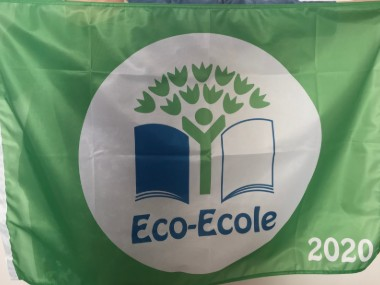 Drapeau Eco-Ecole 2020