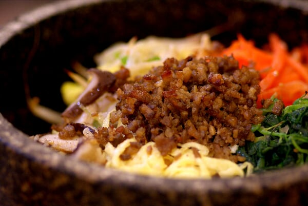 Hot Stone Bowl Rice - Pork
