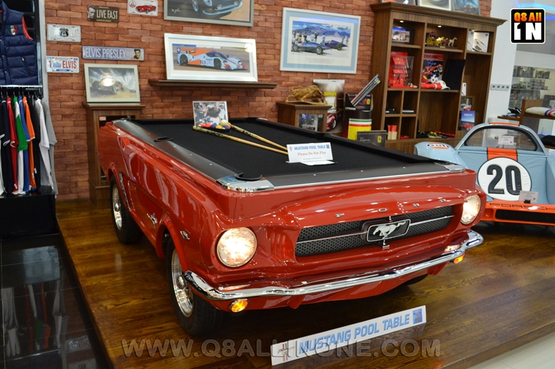 Collectors Palace Dubai Q ALL IN ONE The Blog - Mustang pool table