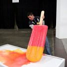 Giant Melting Popsicle