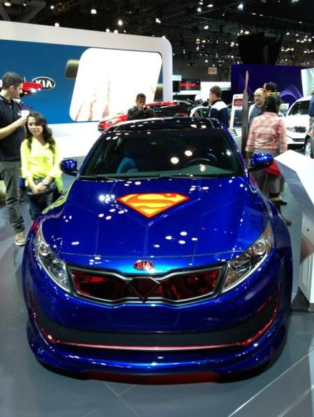 DC Comics and KIA Superhero-Themed Cars