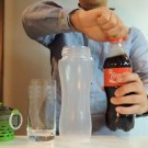 Special Filter Seperates Water From Coca-Cola