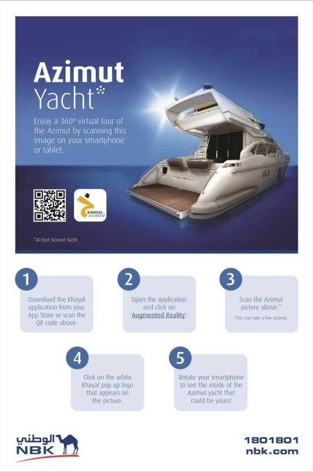 Take a Virtual Tour of the NBK Azimut Yacht