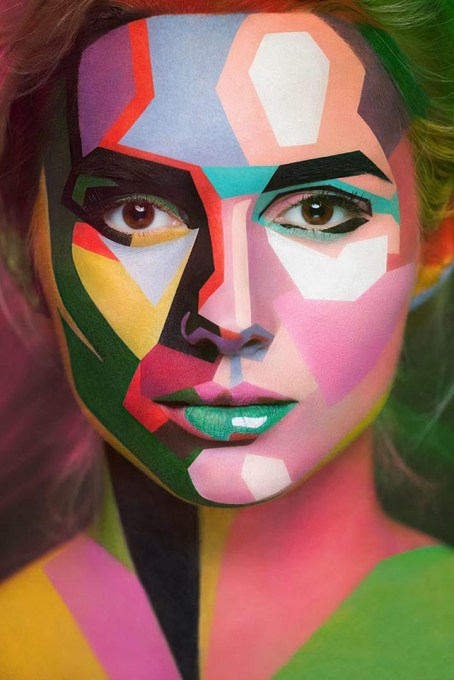Incredible Make-up Turns Models Into Paintings and Drawings 4