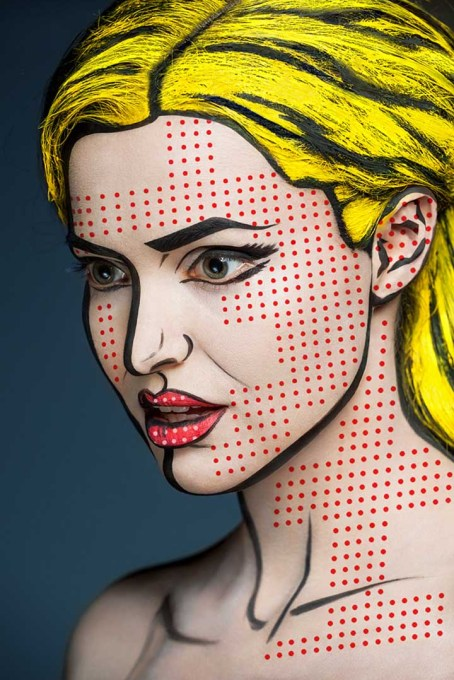 Incredible Make-up Turns Models Into Paintings and Drawings