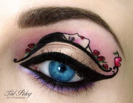 Amazing Eye Makeup Art by Tal Peleg 7