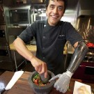 Chef Eduardo Garcia Cooks With His Bionic Hand