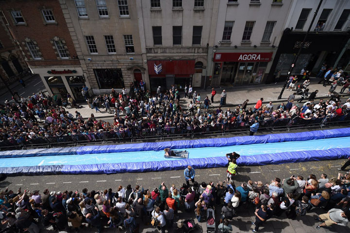 Giant Water Slide in Bristol 7