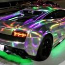 LED Flashing Lamborghini's in Tokyo