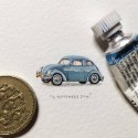 365 Postcards for Ants: A Beautiful Miniature Painting Project