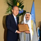 UN Honors The Amir As Humanitarian Leader