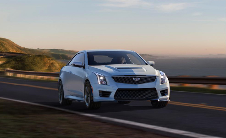 2016 Cadillac ATS-V Coupe Photo