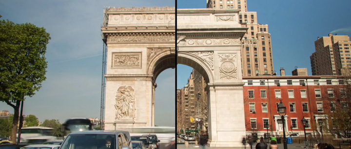 Paris and New York City