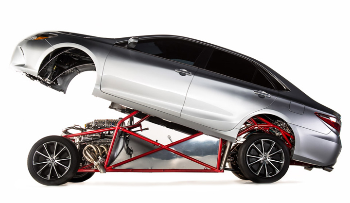 Toyota Camry Dragster 3