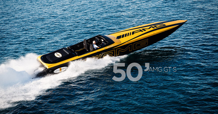 Cigarette AMG Racing Boat 2