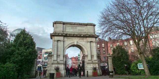 Dublin City Time Lapse