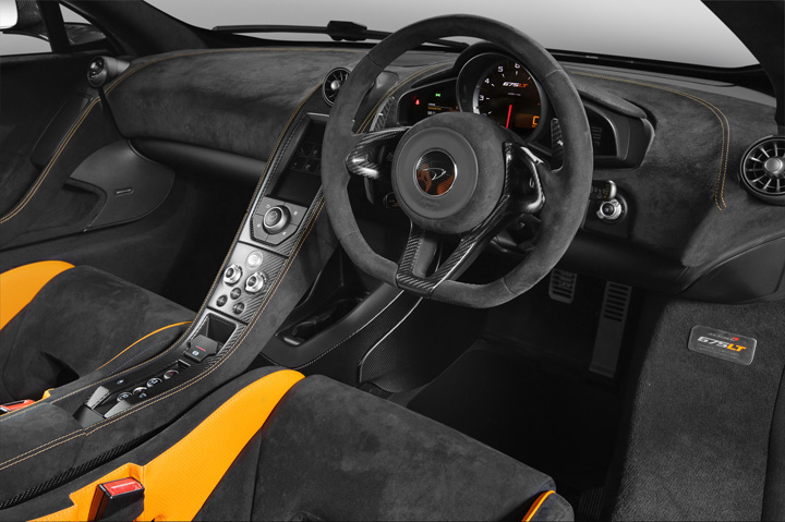 The McLaren 675LT Limited Edition 3