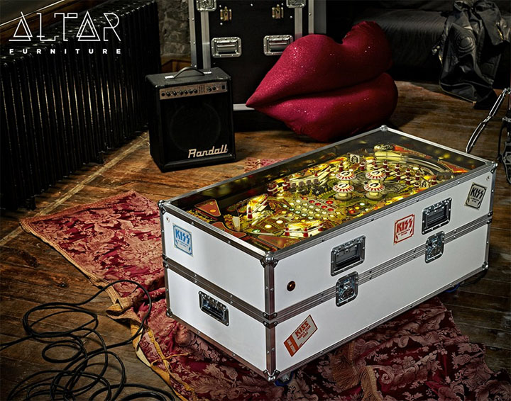 Pinball Machine Coffee Table Furniture 3