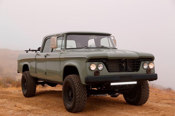 ICON Dodge D200 Power Wagon Crew Cab Truck