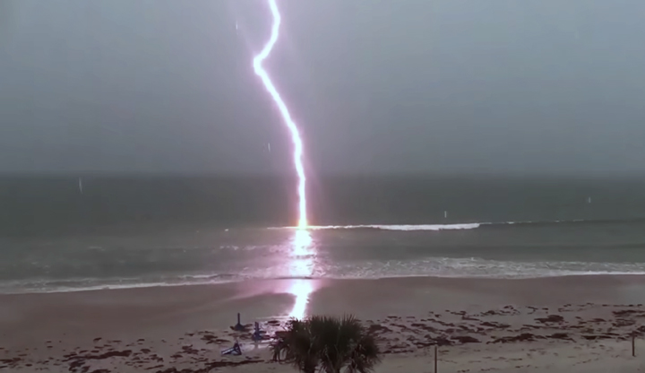 Lightning in Slow Motion