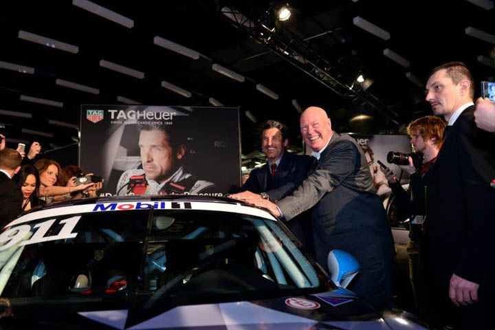 Patrick Dempsey And Jean-Claude Biver
