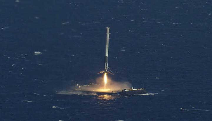 spacex drone ship landing - photo #3