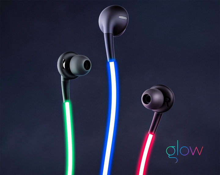 Glow Headphones Colors