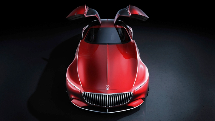 Vision Mercedes-Maybach 6 Coupe 3