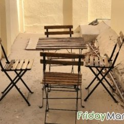 Folding Chair Qatar Cover Hire West London Outdoor Table With 4 Chairs Urgent Sale Moving Out From In Doha
