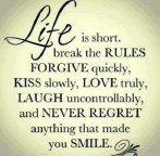 Never-regret-anything-that-made-you-smile-life-picture-quote