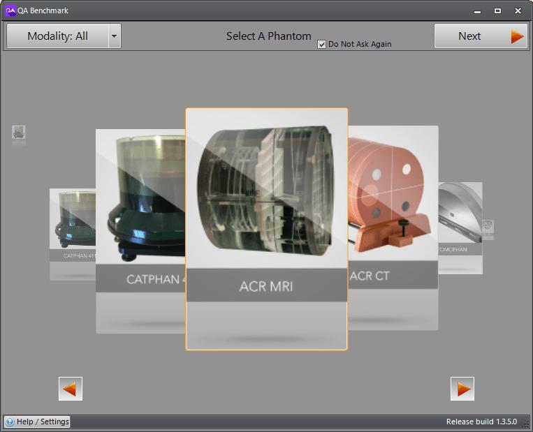 AutoQA Max Main Screen