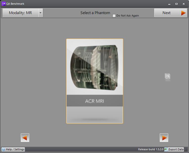 ACR MRI Phantom