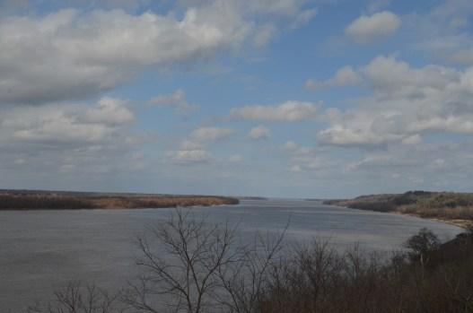 Le Mississippi à Nachez