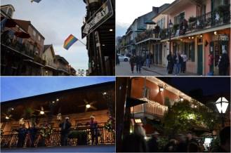 Bourbon Street, ses balcons aux colliers légendaires et son incontournable pub Pat O'Brien's