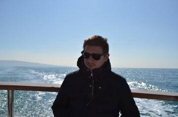 La star sur son yacht (ou presque)