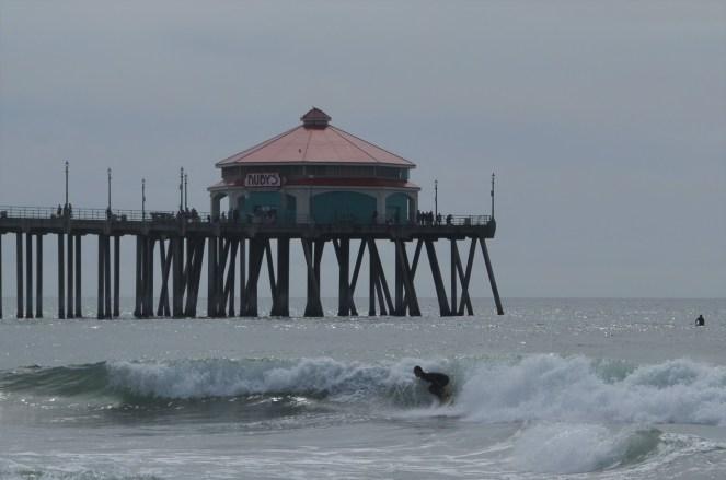 Huntington Beach et ses surfers
