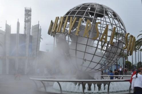 L'entrée d'Universal
