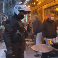 Q SCOOP - Paris: La honte, Intervention de la BRAVM.