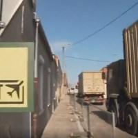 Q SCOOP - Arrivée des militaires américains à Calais Merck.