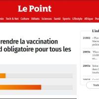 """Q SCOOP - Un sondage important : Votez, """"Faut-il rendre la vaccination obligatoire pour tous les Français ?"""""""