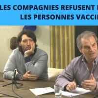 Q VIDÉOS - Les compagnies d'assurances refusent d'assurer les personnes qui se font vacciner!