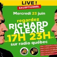 Q SCOOP - Radio Québec : Entrevue avec Richard Boutry, réservez votre place dès maintenant.