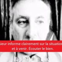 """Q VIDÉOS - """"Une personne vous informe clairement sur la situation actuelle et à venir"""" et """"Dr Perronne chez la UneTV""""."""