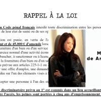 """Voici un document préparé par  MAITRE DE ARAUJO-RECCHIA, """"RAPPEL À LA LOI"""""""