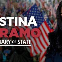 Le président Trump soutient la candidature de Kristina Karamo au poste de secrétaire d'État du MI... Une onde de choc pour l'establishment du GOP et les médias démocrates malhonnêtes.